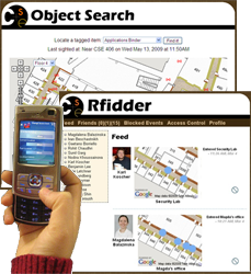 RFID-based Friend and Object Finders